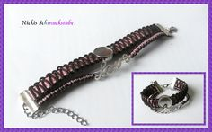 "Armband "" Meria"" von Nickis Schmuckstube auf DaWanda.com"