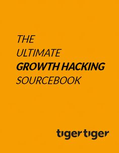 The Ultimate Growth Hacking Sourcebook Growth Hacking, Tiger, Business Entrepreneur, Book Recommendations, Digital Marketing, Words, Horse