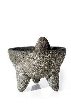 If you've had guacamole made tableside, you've seen a molcajete in action. This heavy, three-legged mortar-and-pestle, often made of volcanic rock, has been used for centuries to grind whole spices and herbs, to make salsas, and, yes, to pulverize avocados.