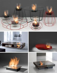 5 table-top fireplace solutions