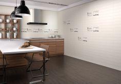 Rvto / Wall / Rvtm: Avalon Marfil 31,6 X 60 / Dec. Laurel Marfil 20 X 60  Pvto / Floor / Sol: Avalon Choco 45 X 45