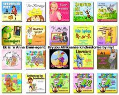 Kinderstories voorgelees deur Anna-Mart van der Merwe, Gys de Villiers, Anrich Herbst, Vicky Davis... en vele meer!