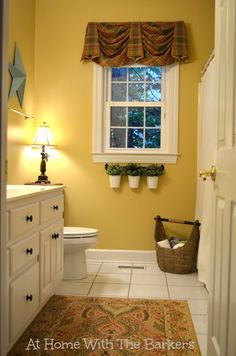 Summer Home Tour Bathroom