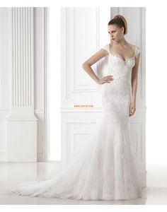 Court uszály Ősz  Ujjatlan Menyasszonyi ruhák 2015