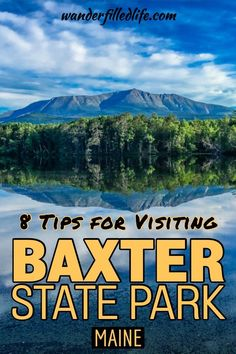 Our tips for visiting Baxter State Park in northern Maine - it's one of the most remote parks we have been to, but it offers plenty of amazing hikes! Maine Road Trip, Camping In Maine, Alaska Travel, Travel Usa, Alaska Cruise, Travel Maine, Travel Tips, New England States, New England Travel