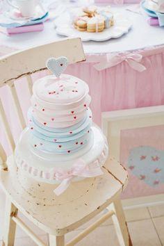 So gorgeous - pastel cake