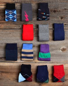 socks are underrated. don't be afraid to flash some fun.