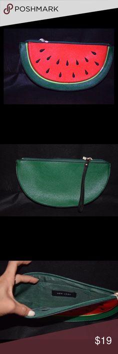Spotted while shopping on Poshmark: Watermelon Clutch! #poshmark #fashion #shopping #style #Handbags