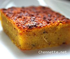 Cassava Pone from Lifespan of a Chennette - Trini food enthusiast, traveling around the Caribbean, sharing my tales, meals and photos. Trinidadian Recipes, Guyanese Recipes, Jamaican Recipes, Carribean Food, Caribbean Recipes, Comida Latina, Tamarindo, Tamales, Cassava Pone