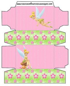 Tinkerbell: Free Printable Boxes.