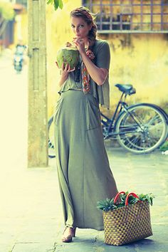 maxi dress anthropologie king