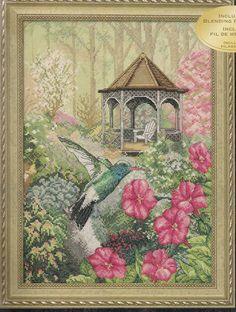 Bucilla Cross Stitch Kit Garden by needlecraftsupershop on Etsy, $43.99