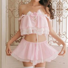 Cat Maiden Lingerie - SYNDROME - Cute Kawaii Harajuku Street Fashion Store Source by nuralon lingerie Pink Lingerie, Lingerie Outfits, Pretty Lingerie, Women Lingerie, Princess Lingerie, Maid Lingerie, Body Suit Outfits, Girl Outfits, Cute Outfits