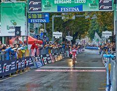 L'arrivo: Rodriguez vince il Lombardia 2013