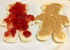 Peanut Butter and Jelly Teddy Bears - Gelee Ideen Age Regression, Into The Fire, Thing 1, Cute Food, We Heart It, Peanut Butter, Sweet, Teddy Bears, Cottage