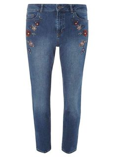 Embroidered Jeans, £32