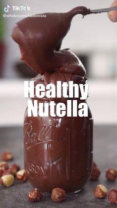 Healthy Dessert Recipes, Sweets Recipes, Vegan Desserts, Healthy Desserts, Fun Baking Recipes, Cooking Recipes, Diy Food, Food Videos, Cookies Et Biscuits