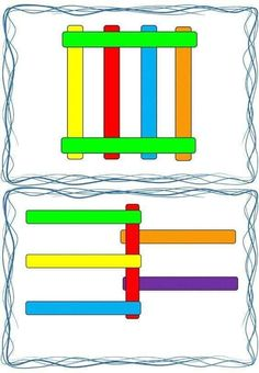 Free Printable Worksheets, Preschool Printables, Preschool Math, Preschool Worksheets, Teaching Math, 3 Year Old Activities, Montessori Activities, Pop Sicle, Block Play