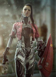 cyberpunk, cyborg