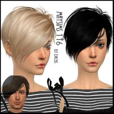 Image result for sims 4 short hair