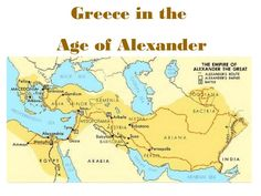 Topic:Alexander the Great and Hellenistic Greece  'The Hellenic World' is a term which refers to that period of ancient Greek history between 507 BCE (the date of the first democracy in Athens) and 323 BCE (the death of Alexander the Great).