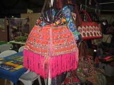 Boho, fringed, tassel, OOAK, gypsy. bohemian, tribal, bag from www.facebook.com/TribalColours
