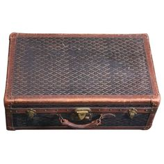 Early Maison Goyard Suitcase 1920