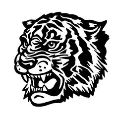 Vintage Inspiration from CSA Images. Tattoo Drawings, Art Drawings, Tiger Illustration, Desenho Tattoo, Tiger Tattoo, Flash Art, Tattoo Stencils, Grafik Design, Free Illustrations