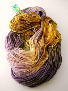 4 Ply Superwash Merino Hand Dyed Yarn Olive n by designsbyamber