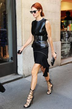 I can just see this at the office (jk)- The Sexy Shoe Style That's Appropriate for Every Age via @WhoWhatWear