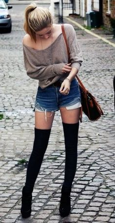 Cute minus the thigh high boots