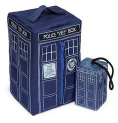 Doctor Who BBC - TARDIS Toiletry Bag & Soap-On-A-Rope - Officially Licensed  #DoctorWho