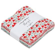 """Love You Mini 2.5"""" Charm Pack by Sandy Gervais for Moda Fabrics"""