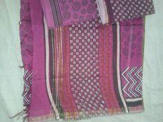 Chanderi Silk Suit Set - 5