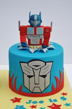 Here at The Sweet Life we deliver hand crafted cakes as delicious as they are beautiful. Rescue Bots Cake, Rescue Bots Birthday, Transformers Birthday Parties, Transformers Cupcakes, Transformer Birthday, Transformer Cake, Alien Cake, 5th Birthday Cake, Birthday Cake Decorating