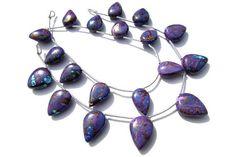 Christmas Sale Quality AAA Purple Copper Turquoise Beads #purplecopperturquoise #purplecopperturquoisebead #purplecopperturquoisebeads #purplecopperturquoisearrow #arrowbeads #beadswholesaler #semipreciousstone #gemstonebeads #gemrare #beadwork #beadstore #bead