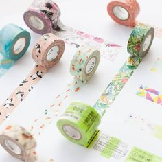 """foxandstar: """" Masté's delightful patterns are proof that the best washi tapes are made in Japan :) """""""