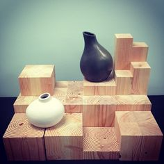 pine risers by Bramble Workshop for Urban Palate