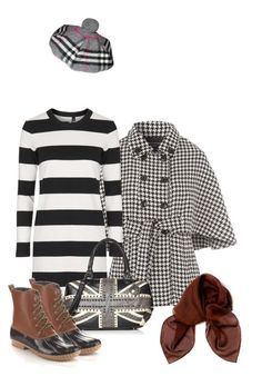 """British style with brown scarf"" by espaikantor ❤ liked on Polyvore featuring Jane Norman, Boutique, Cape Robbin, Burberry, Dolce&Gabbana, women's clothing, women's fashion, women, female and woman"