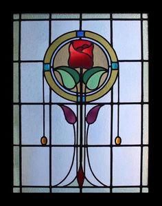Garden, Stained Glass Windows