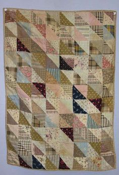 C. 1900 doll quilt sold by Garth's Auction, seen at Live Auctioneers