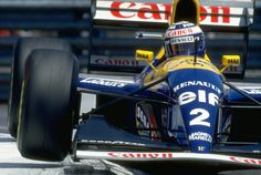 """frenchcurious: """" Alain Prost (Williams-Renault) Grand Prix de Monaco 1993 - Formula 1 HIGH RES photos (Old and New) Facebook. """""""