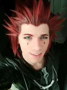 A fellow cosplayer who rocks the Axel look! Kingdom Hearts Cosplay, Best Cosplay, Awesome Cosplay, Disney Costumes, How To Memorize Things, Dreadlocks, Hair Styles, People, Beauty