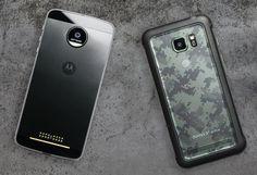 Moto Z Force vs Galaxy S7 Active - który smartfon wytrzymalszy?