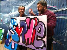 WRKSHOP workshop graffiti bedrijfsuitje