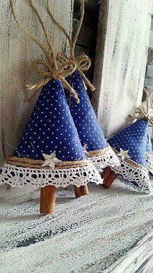 Dekorácie - Stromcek Vianocny III. :) - 4783304_