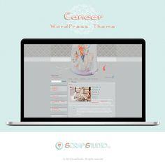Cancer Tema WordPress Diseño Plantilla para Blog por @ScrapStudioES http://scrapstudio.es