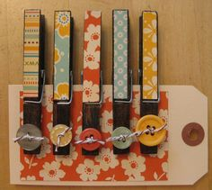 clothespin craft-would make cute fridge magnets