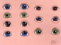 Eyes - one stroke