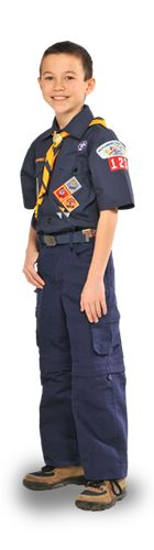 A new, easy-to-use uniform Web site targeted at new Scout families just debuted, courtesy of the folks in Program Impact and the Supply Group.  Click on the appropriate Scouting program — Cub Scouts, Webelos, Boy Scouts, Venturers, Leaders, and Dress Uniforms (professionals). From there, you're presented with a list of required and awarded patches that you can drag and drop to where they belong on the uniform. It's simple and fun.